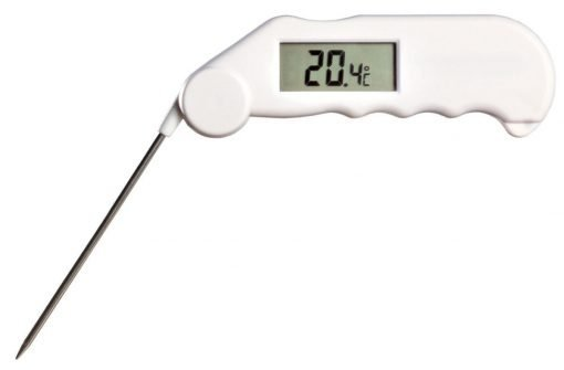 Gourmet Thermometer in White